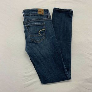 American Eagle Women's Skinny Jeans Size 4 Regular